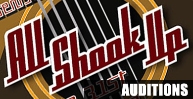 All Shook Up Auditions